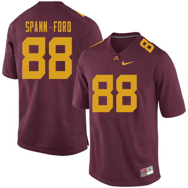 Men #88 Brevyn Spann-Ford Minnesota Golden Gophers College Football Jerseys Sale-Maroon